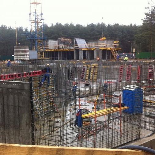 Стройка жилой комплекс Отражение