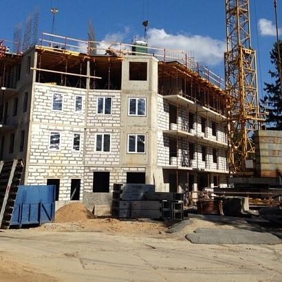 жилой комплекс Отражение ход строительства